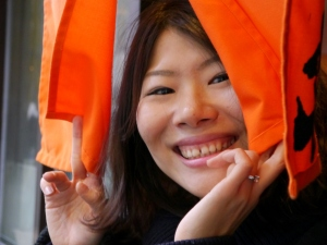 Sonomi's beautiful smile!
